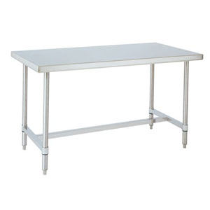 All Stainless H Frame Work Tables