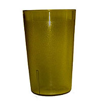 Update International TBP-12A 12 oz Amber Stackable Tumblers