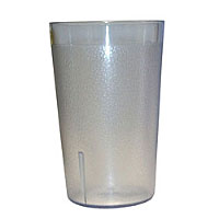 Update International TBP-12C 12 oz Clear Stackable Tumblers