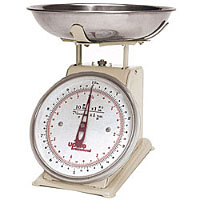 Update International UP-820T 20 Lb Analog Portion Control Scale