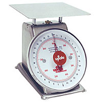 Update International UPS-75 5Lb S/S Analog Portion Control Scale