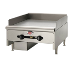 Wells HDG-2430G Gas Griddle 24