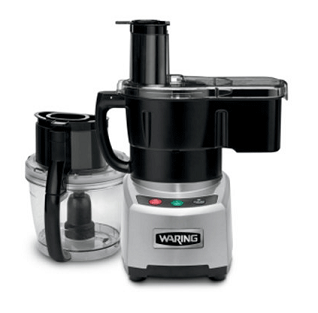 Waring 4 Quart Combination Continuous-Feed/Batch Bowl Food Processor- WFP16SCD