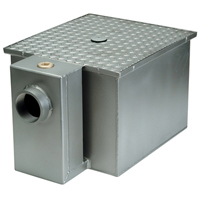 Zurn ZS1170-100 8 Lb All Stainless Grease Trap Interceptor 4 GPM