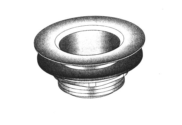 Basket Drain with Strainer- 1.75
