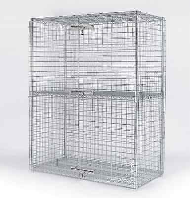 Security Cage Liquor Storage 24 x 30 Compact