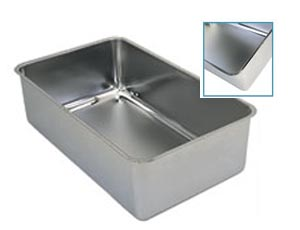 Update International SWP-6N Stainless Steel Spillage Pans