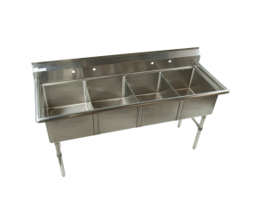 Four Compartment Sinks