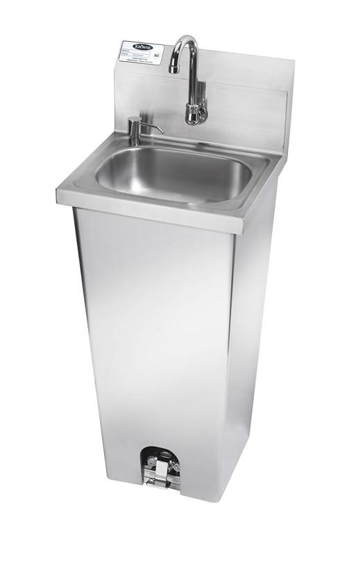 pedestal sink rough in dimensions
