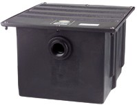 Grease Trap 08 lbs Poly by Ashland w 2' Inlet 4 GPM 4804