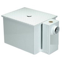 20 Lb Zurn Z1170-300 Acid Resistant Grease Trap 10 GPM