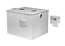 Lg 200# Zurn Z1172-UN-1000 Grease Trap w/ User Notification System 100 GPM